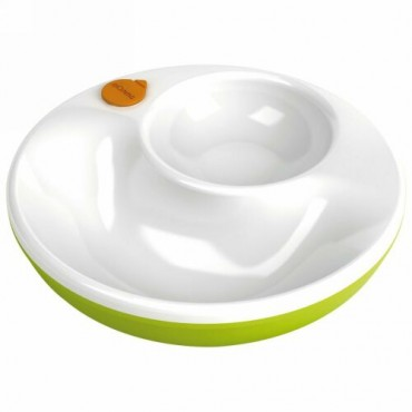Lansinoh, mOmma、保温皿、緑、1 枚、蓋 1 枚 (Discontinued Item)