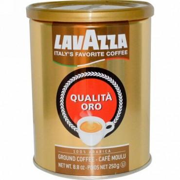 LavAzza Premium Coffees, Qualità Oro, 挽きコーヒー豆, 8.8 oz (250 g) (Discontinued Item)