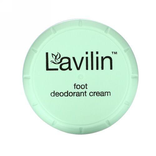 Lavilin, バイオバランス、 フットデオドラントクリーム 男性・女性用、 12.5 g