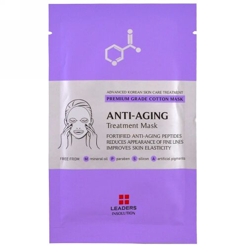 Leaders, Anti-Aging Treatment Mask, 1 Sheet, 25 ml (Discontinued Item)