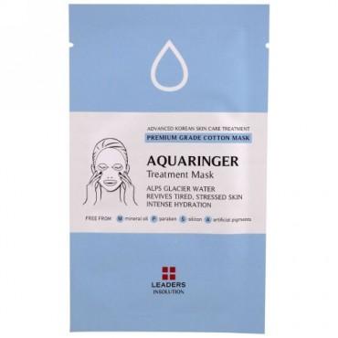 Leaders, Aquaringer Treatment Mask, 1 Mask (Discontinued Item)