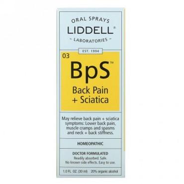 Liddell, 03 BpS, Back Pain + Sciatica, 1.0 fl oz (30 ml)