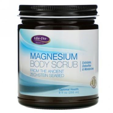 Life-flo, マグネシウムボディ・スクラブ、9 液体オンス(266 ml)