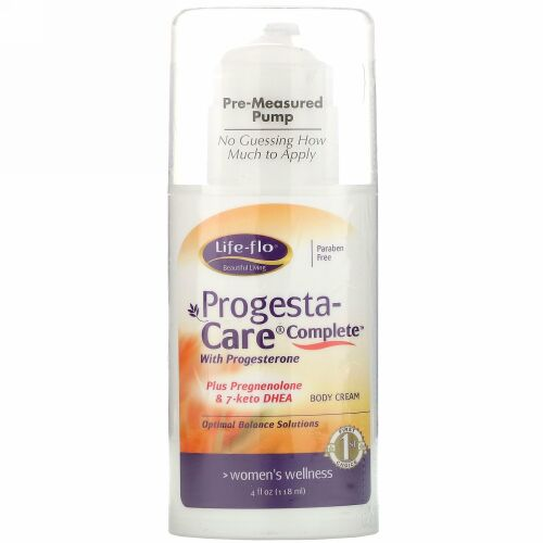 Life-flo, Progesta-Care Complete, 4 oz (118 g)