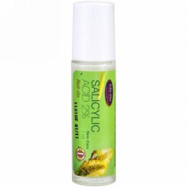 Life-flo, サリチル酸2%ロールオン、7 ml