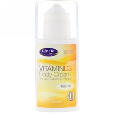 Life-flo, Vitamin D3 Body Cream, 3.5 fl oz (104 ml) (Discontinued Item)