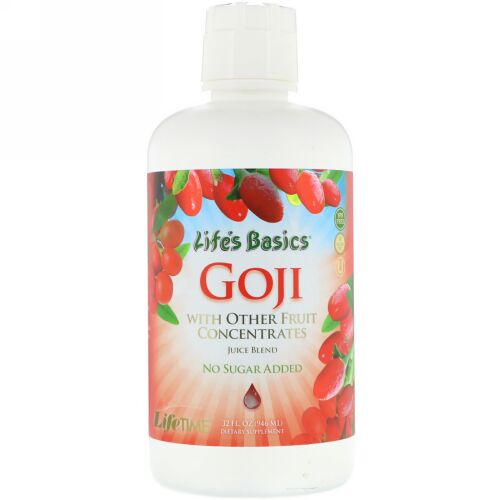 LifeTime Vitamins, Life's Basics Goji Juice Blend, 32 fl oz (946 ml) (Discontinued Item)