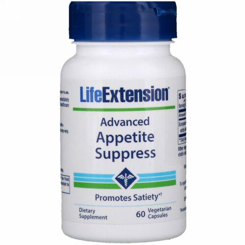 Life Extension, アドバンスト アペタイトサプレス、植物性カプセル60粒