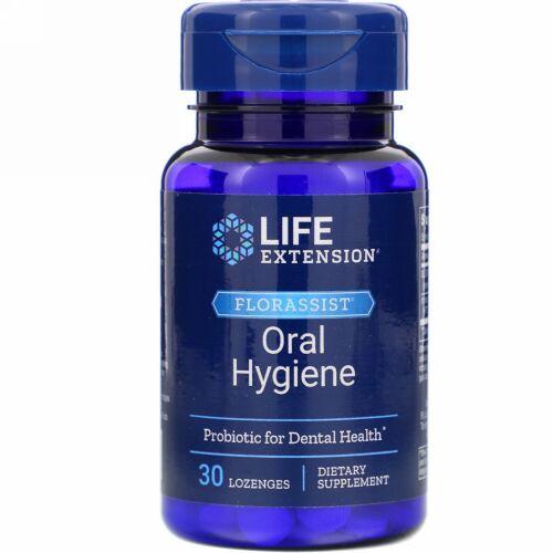 Life Extension, FLORASSIST Oral Hygiene, 30 Lozenges