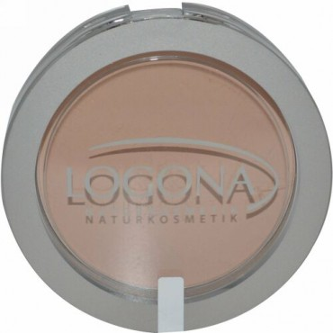Logona Naturkosmetik, フェイスパウダー、 ミディアムベージュ02、 0.352オンス (10 g) (Discontinued Item)