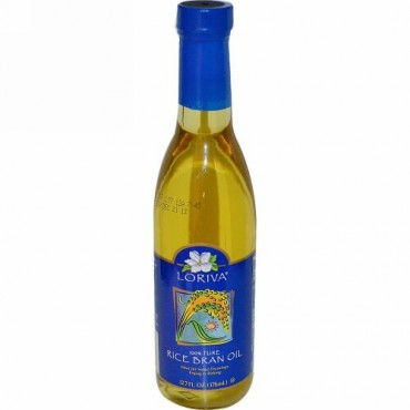 Loriva, 100% ピュア・ライス・ブラン・オイル(米油)、 12.7 液量オンス(376 ml) (Discontinued Item)