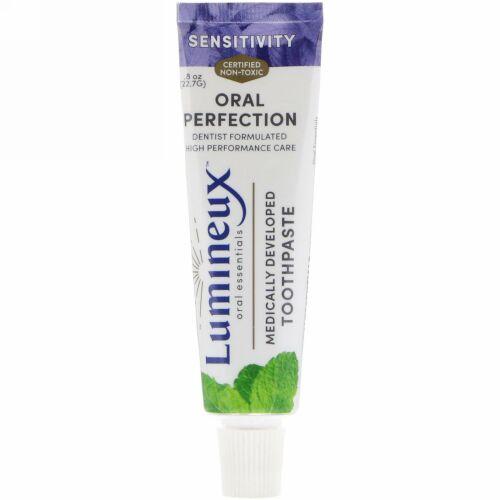 Lumineux Oral Essentials, 医学的に開発された練り歯磨き、知覚過敏用、.8オンス (22.7 g) (Discontinued Item)