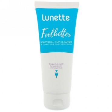 Lunette, フィールベター、月経用カップクレンザー、3.4 fl oz (100 ml) (Discontinued Item)