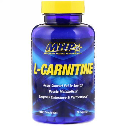 MHP, L-カルニチン、60カプセル (Discontinued Item)