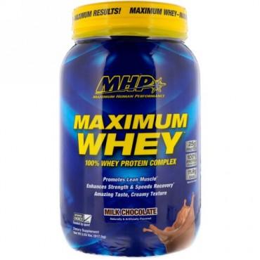 MHP, マキシマム ホエイ、ミルクチョコレート、2.02 lbs (917.5 g) (Discontinued Item)