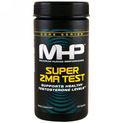 MHP, スーパーZMAテスト、120カプセル (Discontinued Item)