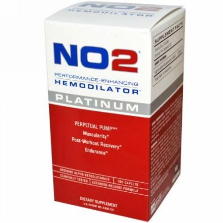 MRI, NO2, Performance-Enhancing Hemodilator, Platinum, 180 Caplets (Discontinued Item)