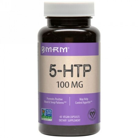 MRM, 5-HTP、100mg、植物性カプセル60錠 (Discontinued Item)