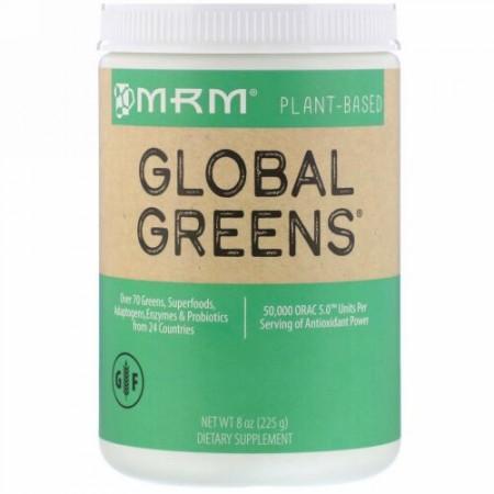 MRM, グローバルグリーン、225g(8oz)