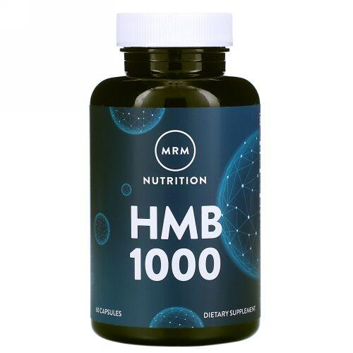 MRM, HMB 1000, 60カプセル