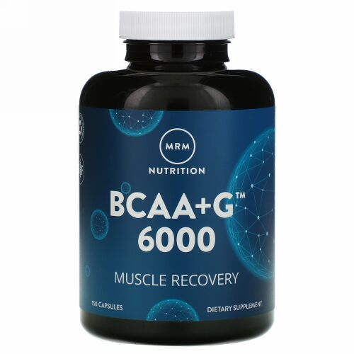 MRM, BCAA+G 6000、150カプセル