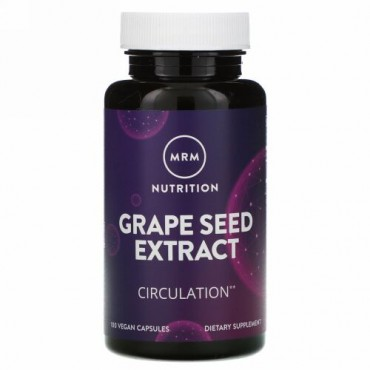 MRM, Nutrition, Grape Seed Extract, 100 Vegan Capsules