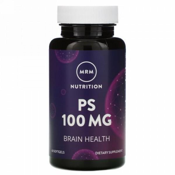 MRM, Nutrition, PS, 100 mg, 60 Softgels
