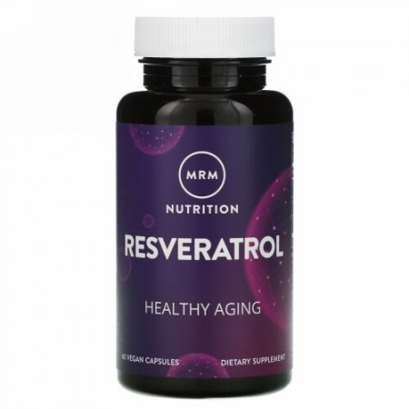 MRM, Nutrition, Resveratrol, 60 Vegan Capsules
