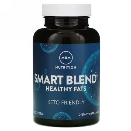 MRM, Nutrition, Smart Blend Healthy Fats, 120 Softgels