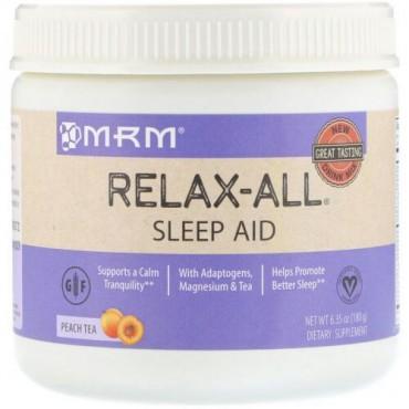 MRM, Relax-All Sleep Aid, Peach Tea, 6.35 (180 g) (Discontinued Item)