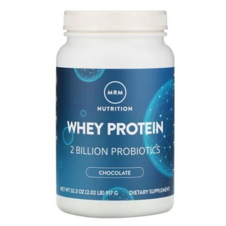 MRM, ホエイタンパク質、20億のプロバイオティクス、チョコレート、917g(2.02ポンド)