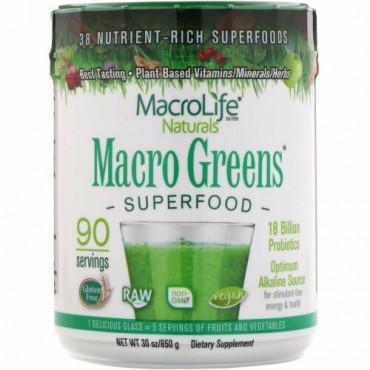 Macrolife Naturals, マクログリーンズ、 スーパーフード、 30オンス (850 g)