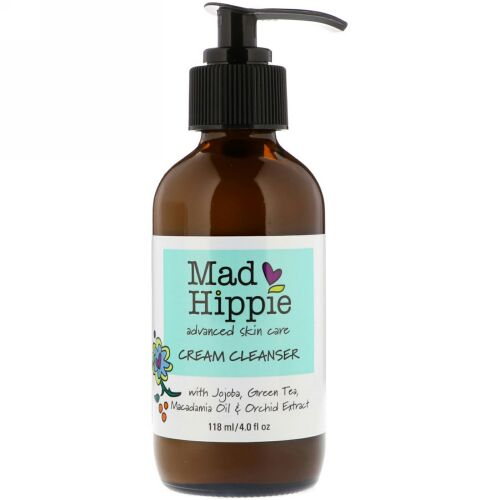 Mad Hippie Skin Care Products, クリーム クレンザー, 13アクティブ, 4.0 オンス (118 ml)