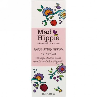 Mad Hippie Skin Care Products, 剥離セラム、16アクティブ、1.02液量オンス (30 ml)