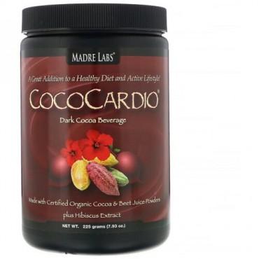 Madre Labs, CocoCardio 有機認定ココア & ビーツジュースパウダー + ハイビスカスエキス, 7.93 oz. (225 g) (Discontinued Item)