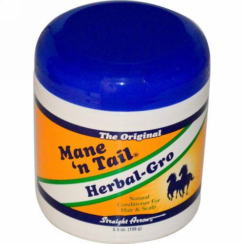Mane 'n Tail, ハーバル・グロー, ナチュラル コンディショナー 髪の毛と頭皮に, 5.5 オンス (156 g) (Discontinued Item)