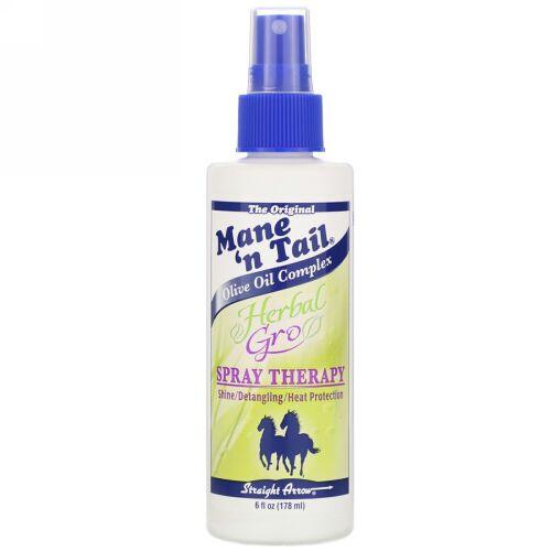 Mane 'n Tail, ハーバルグロースプレーセラピー, 6液量オンス (178 ml)