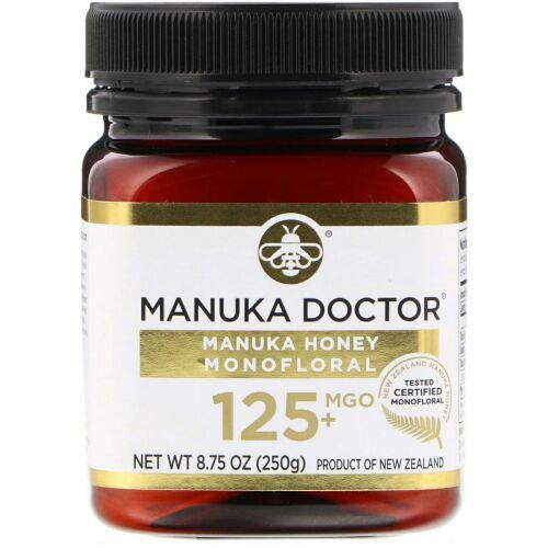 Manuka Doctor, マヌカハニー モノフローラル、MGO 125+、250g(8.75オンス)