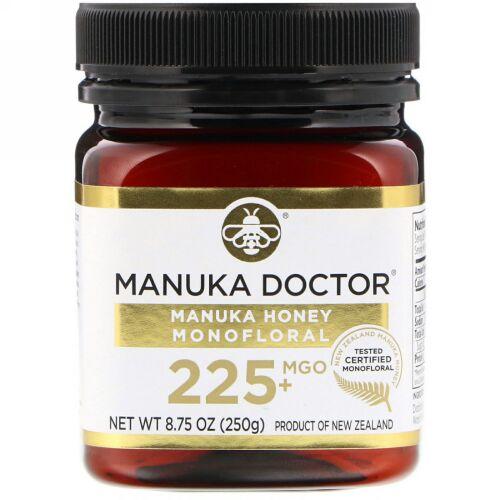 Manuka Doctor, マヌカハニー モノフローラル、MGO 225+、250g(8.75オンス)