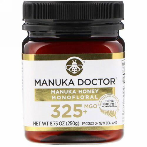 Manuka Doctor, マヌカハニー モノフローラル、MGO 325+、250g(8.75オンス)