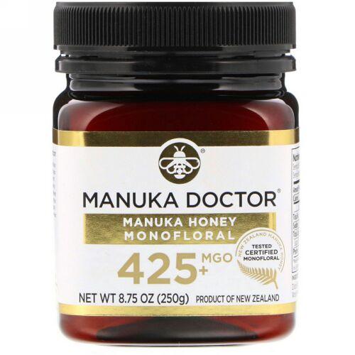 Manuka Doctor, マヌカハニー モノフローラル、MGO 425+、250g(8.75オンス)