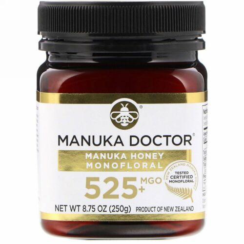 Manuka Doctor, マヌカハニー モノフローラル、MGO 525+、250g(8.75オンス)