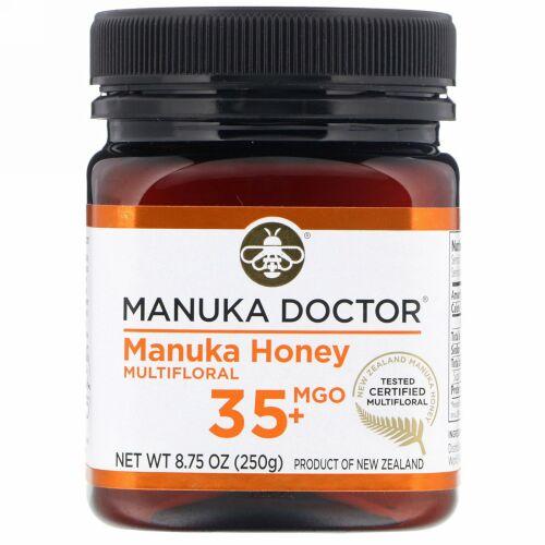 Manuka Doctor, マヌカハニーマルチフローラル、MGO 35以上、250g(8.75オンス)