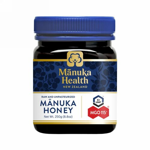 Manuka Health, マヌカハニー、MGO™ 115+、250g(8.8オンス)