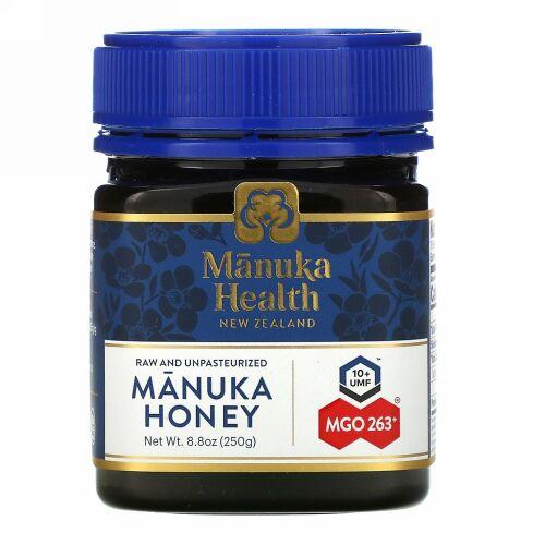Manuka Health, マヌカハニー、MGO 263+、250g(8.8液量オンス)