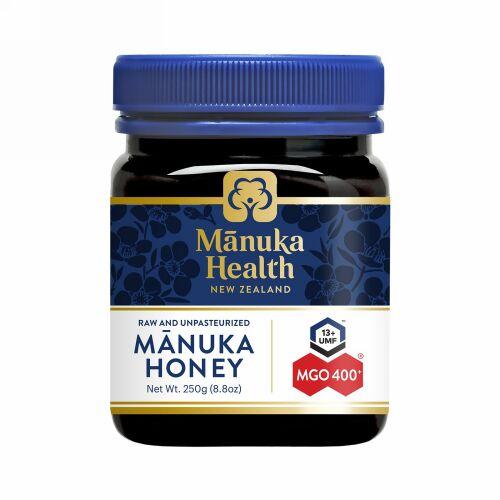 Manuka Health, マヌカハニー、MGO 400+、250g(8.8オンス)