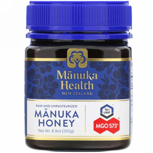 Manuka Health, マヌカハニー、MGO573+、250g(8.8オンス)