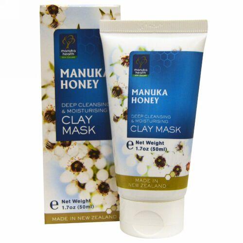 Manuka Health, Manuka Honey Clay Mask, 1.7  fl oz (50 ml) (Discontinued Item)