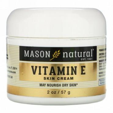 Mason Natural, Vitamin E Skin Cream, 2 oz (57 g)