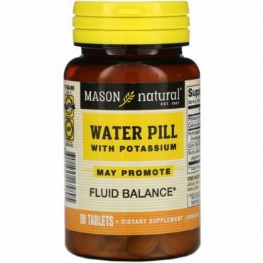 Mason Natural, カリウム配合利尿剤、90錠